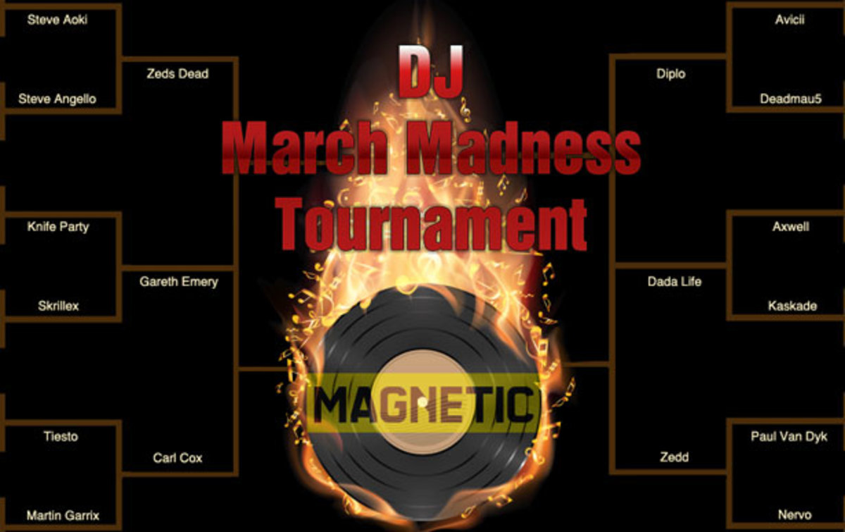 Magnetic Presents: 2014 DJ March Madness- Vote Your Favorite DJs Through The Tournament!