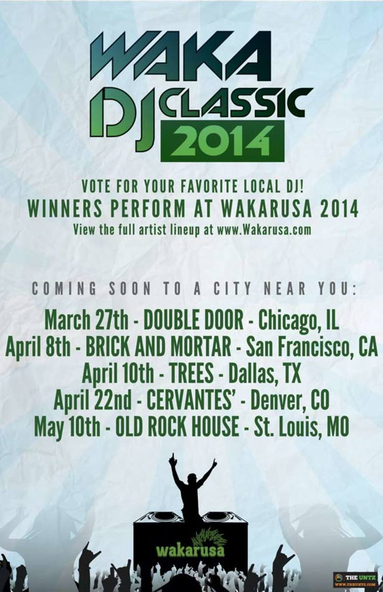 Enter The Waka DJ Classic For A Chance To Perform At The 2014 Wakarusa Festival
