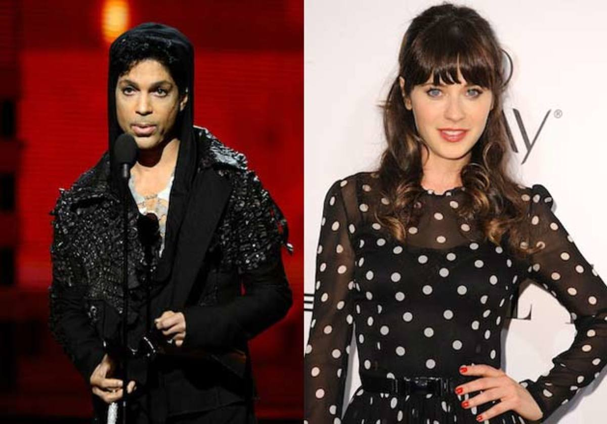 Prince & Zoey Deschanel Team Up For A New Electronic Music Track