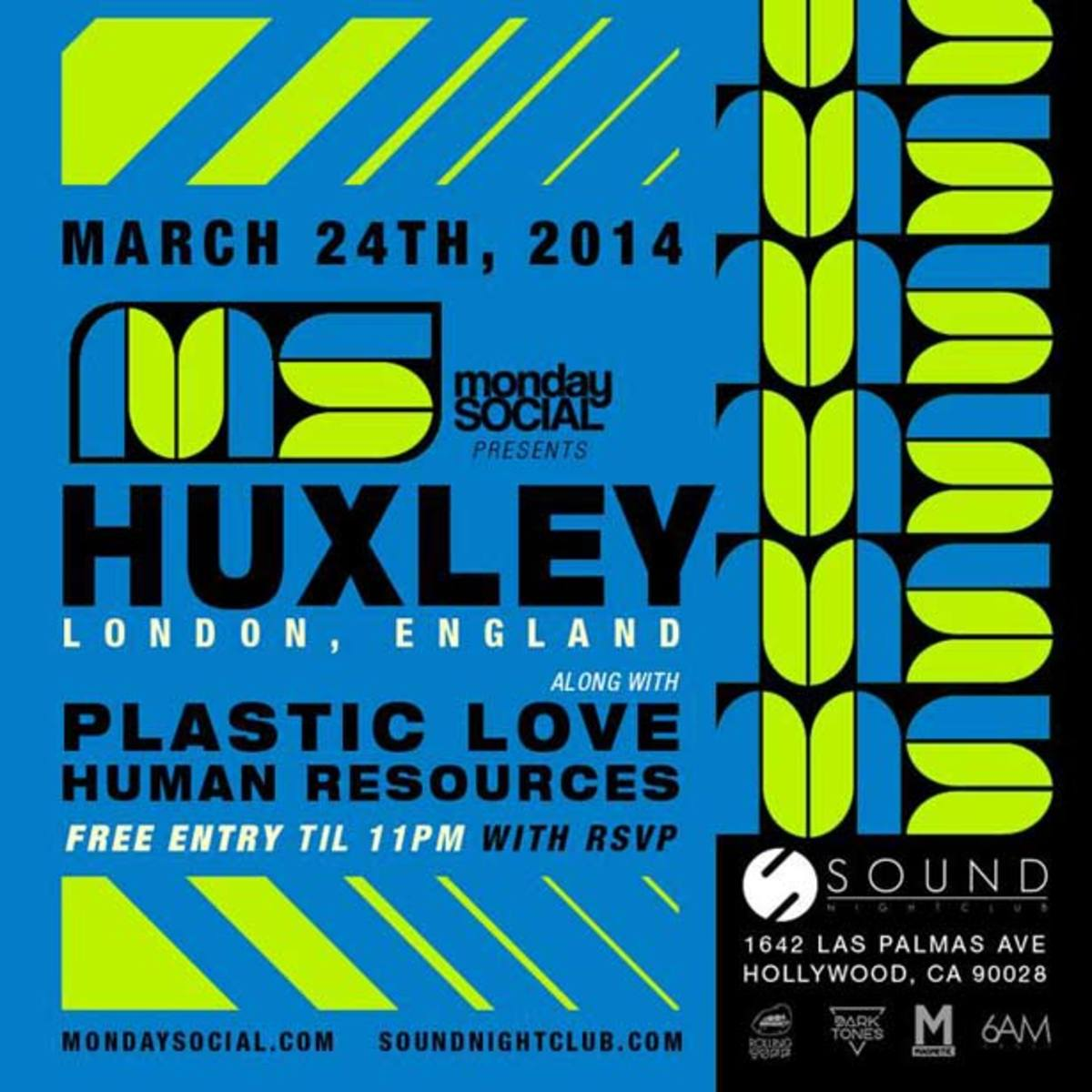 Monday Social Continue Their House Music Tradition Tonight With Huxley