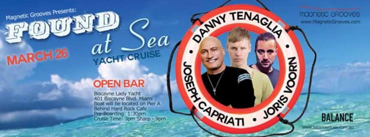 WMC Event Spotlight: Found at Sea with Danny Tenaglia, Joris Voorn & Joseph Capriati