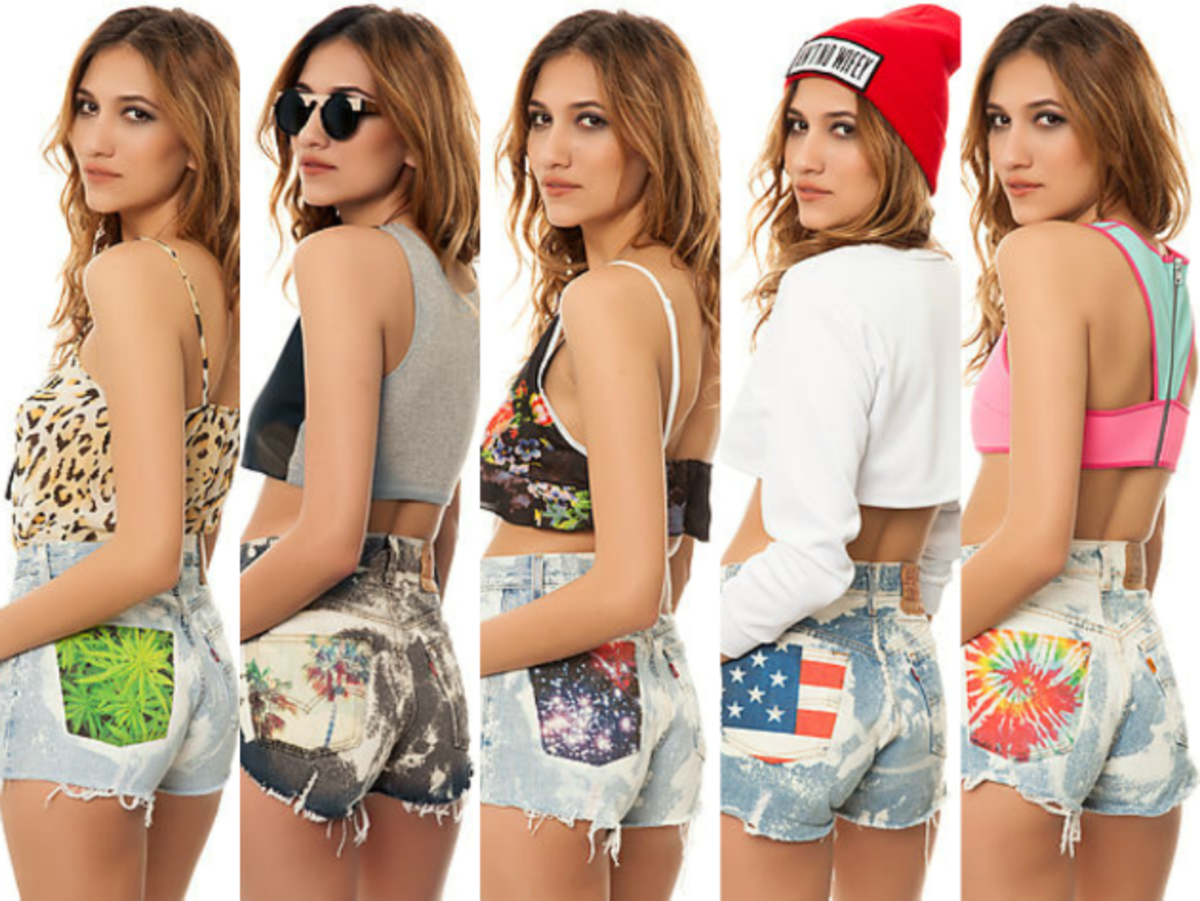 Festie Fashion: The Laundry Room Releases Denim Shorts Series