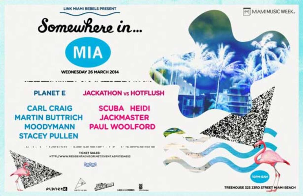 """Carl Craig Bringing """"Somewhere In..."""" Party Concept To Miami Tonight"""