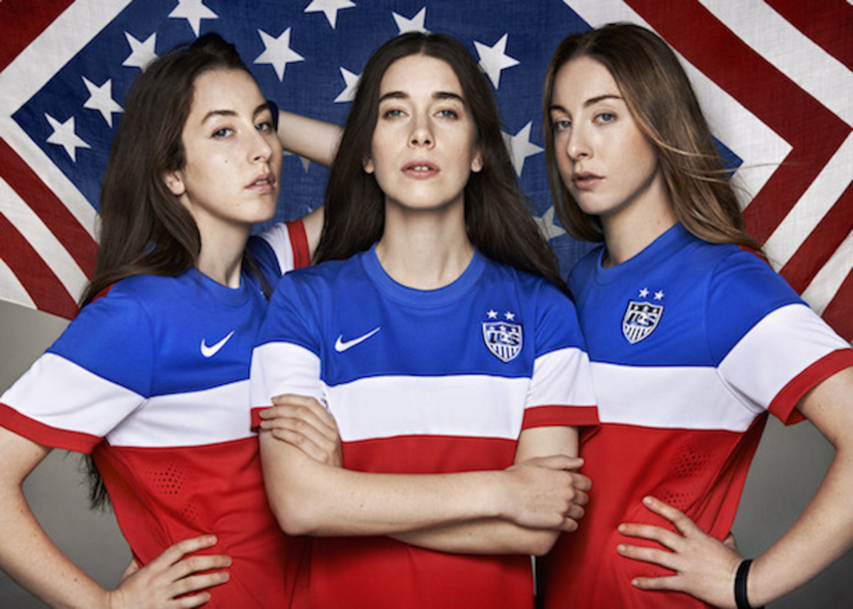 Diplo, HAIM, and Spike Lee Unveil The Uniform Of The US Football Team