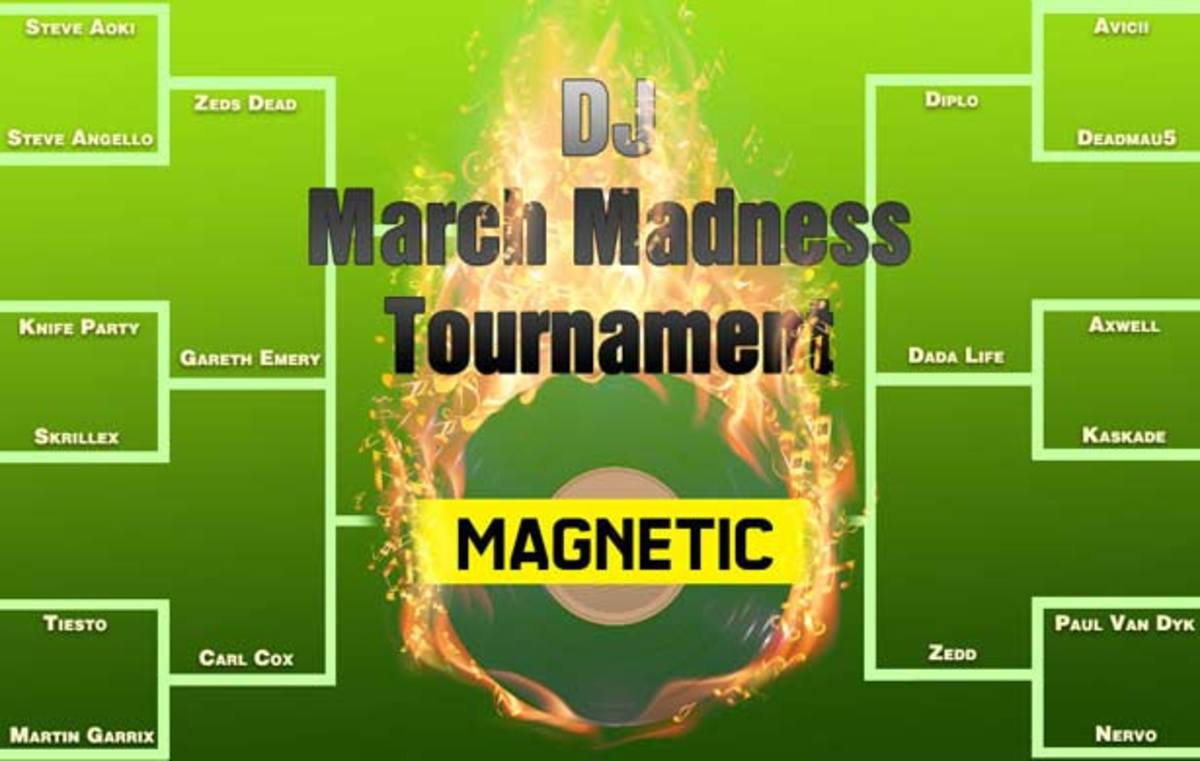 DJ March Madness - Sweet Sixteen