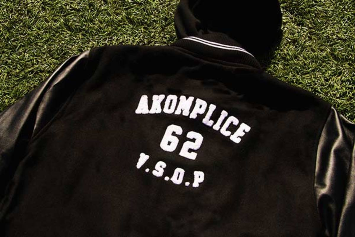 GRiZ And Akomplice Team Up For Custom Varsity Jacket