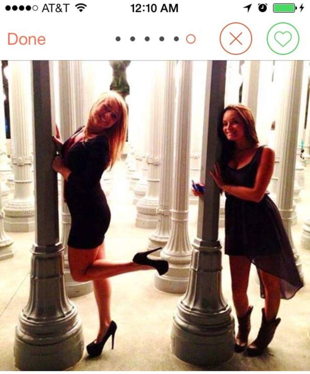 Some Effin' Genius Created A Tumblr Of Girls Posing At LACMA For Tinder