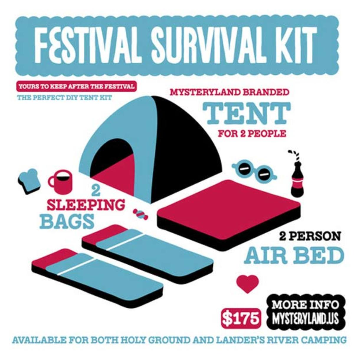 Mysteryland USA's Festival Survival Kit