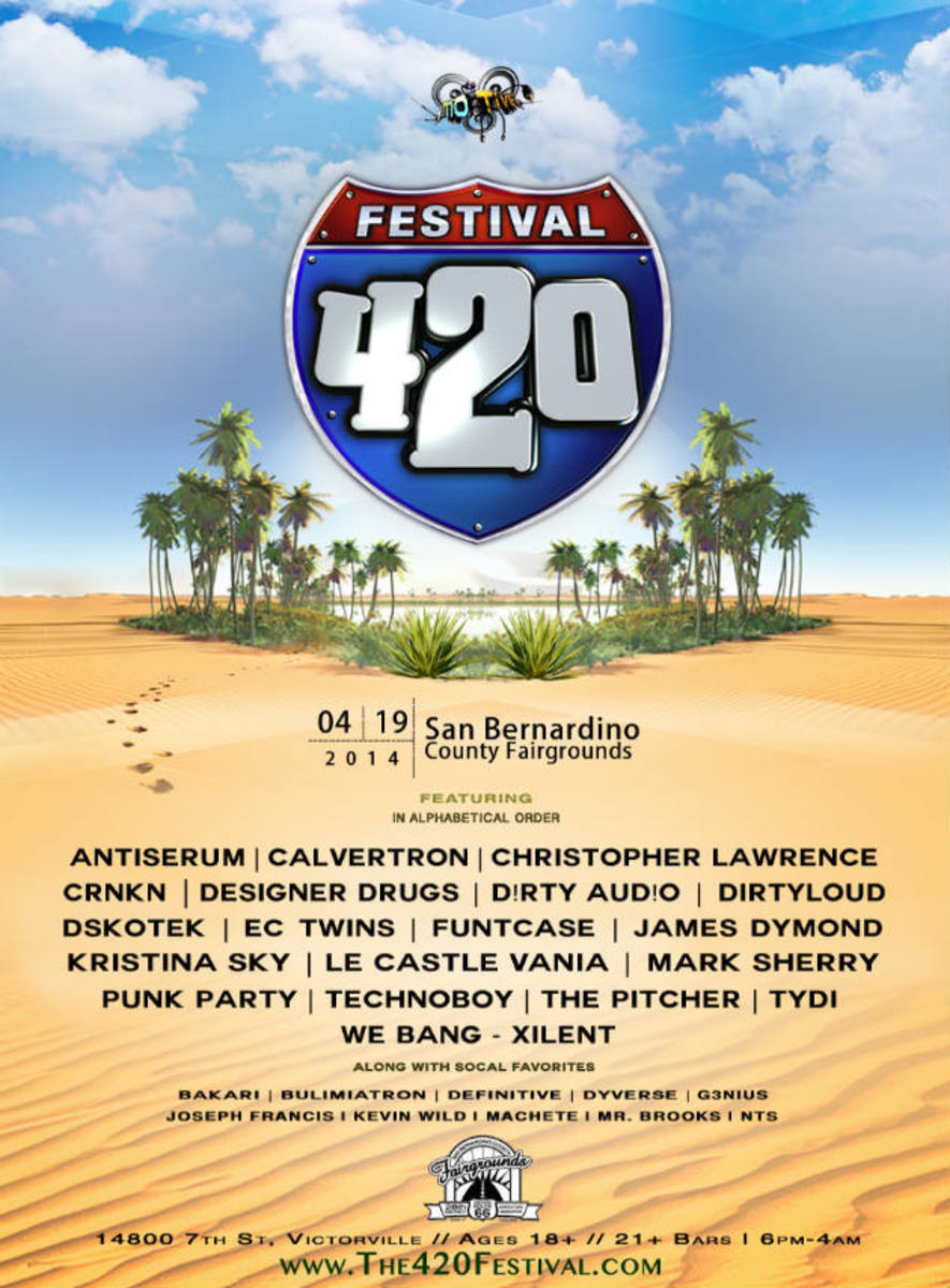 Irie Things Are Happening at Motive's Annual 420 Festival