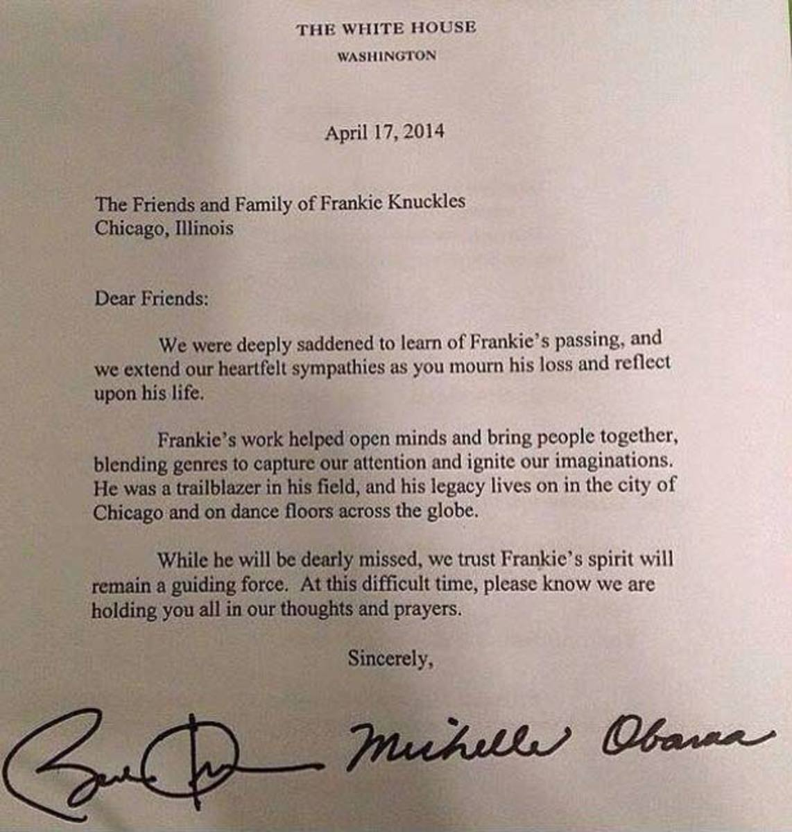 writing a letter to barack obama