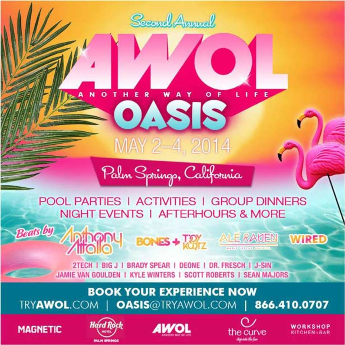 AWOL Oasis Palm Spring