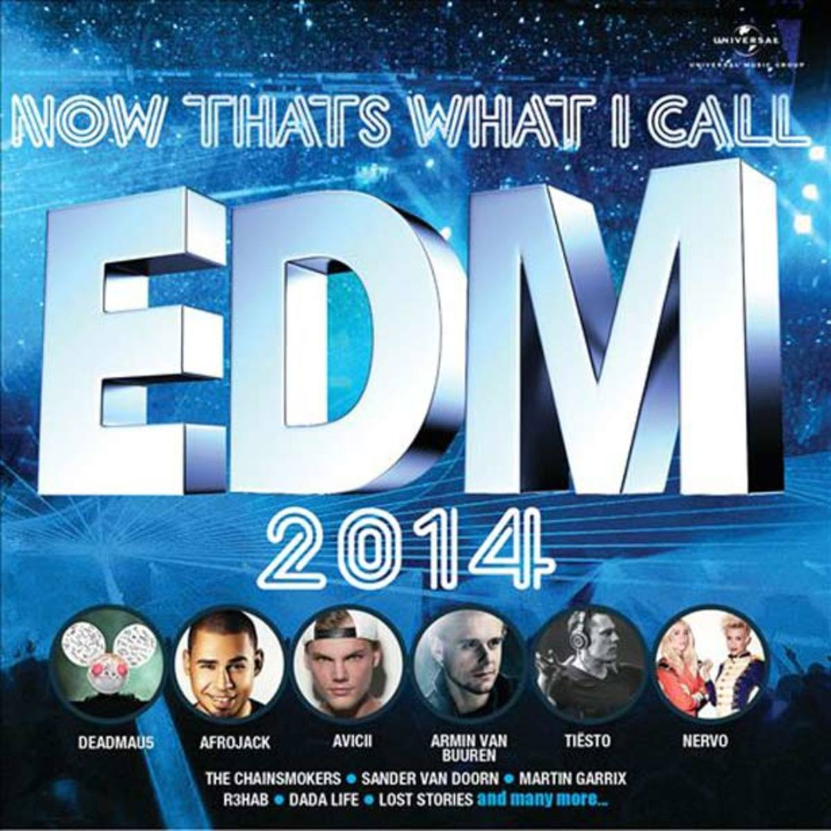 deadmau5 Gets Bummed At Now That's What I Call EDM 2014 Comp