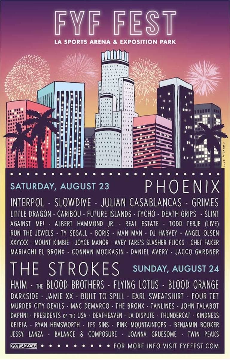 The 2014 FYF Fest Lineup Is Almost Too Good To Be True