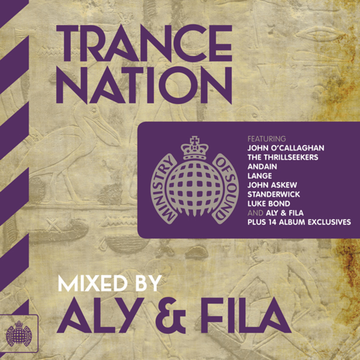 Label Spotlight: Ministry Of Sound's Trance Nation- Mixed By Aly & Fila