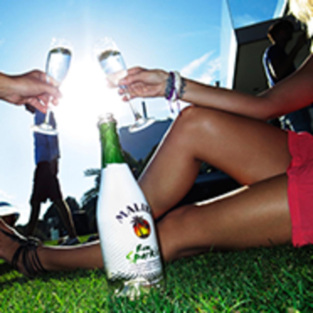 Sponsored Post: Malibu Sparkler- A Perfect Summer Drink