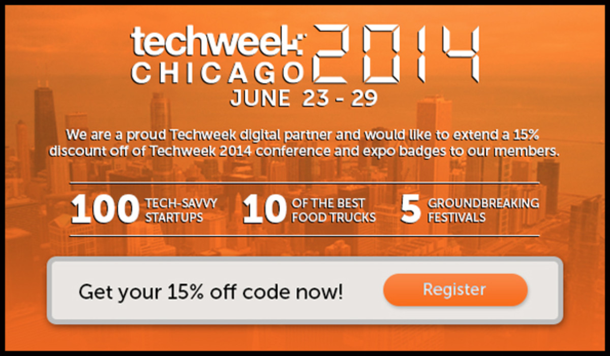 Techweek Chicago- June 23rd -29th