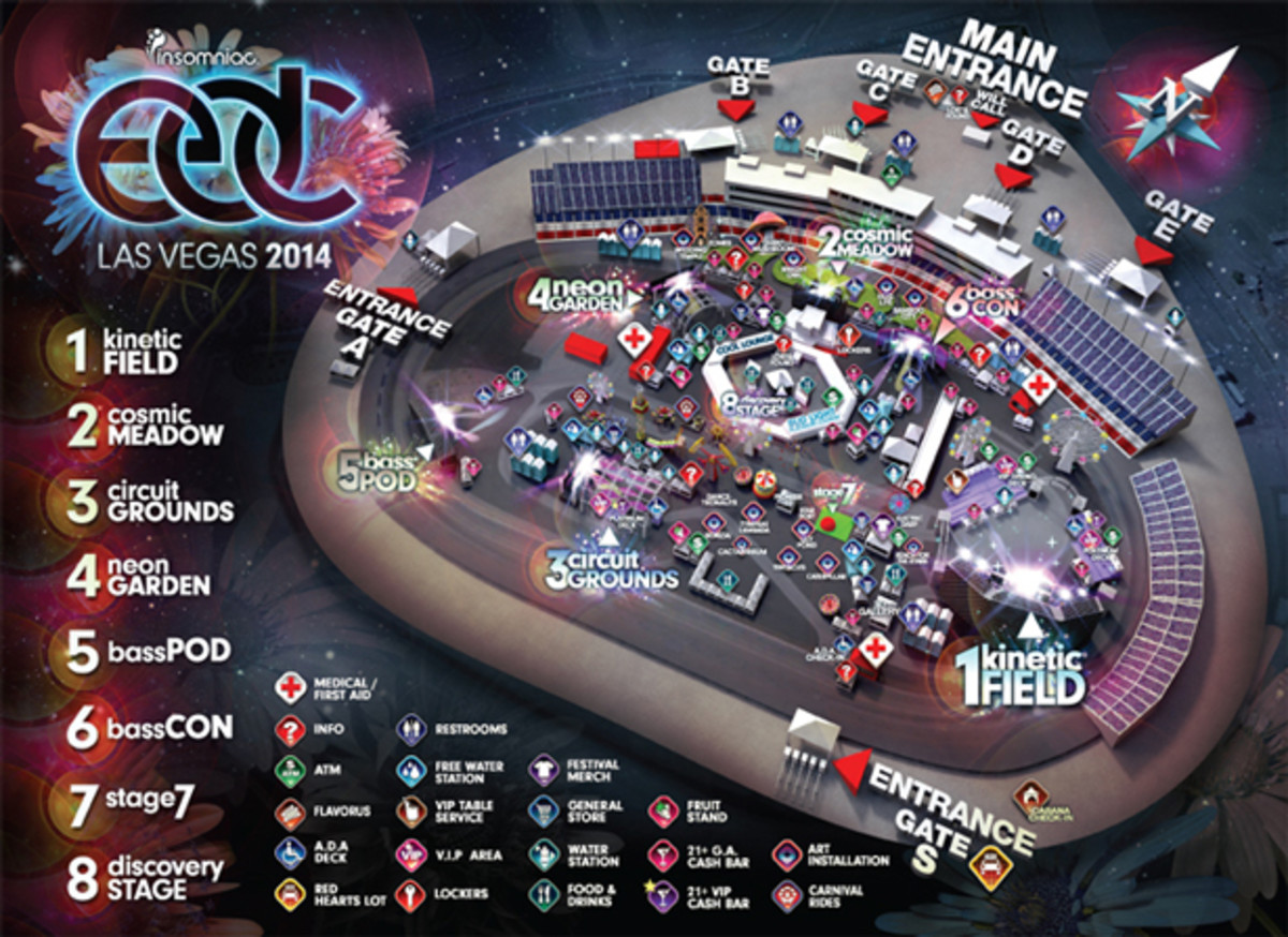 Download The EDC 2014 Set Times For iOS & Android here