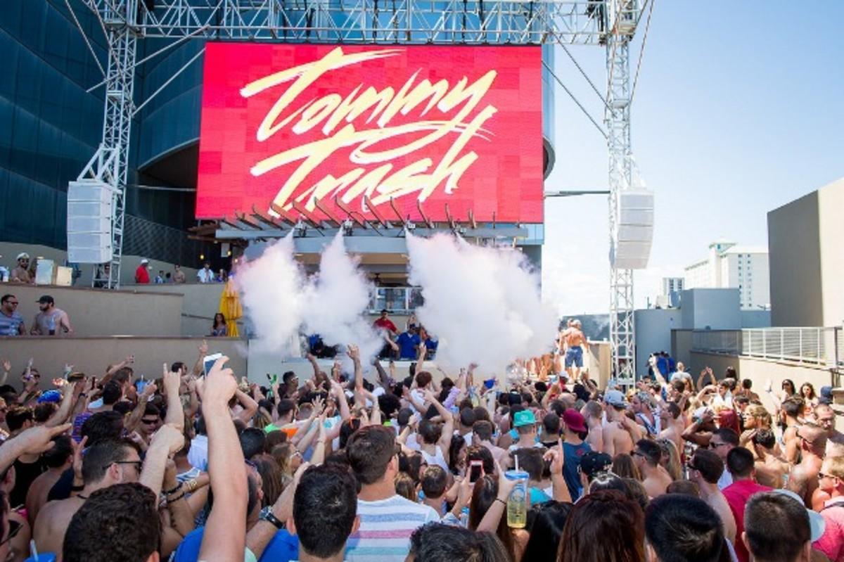 Tommy Trash Kicks Off Grand Opening of HQ Beach Club EDM Pool Parties