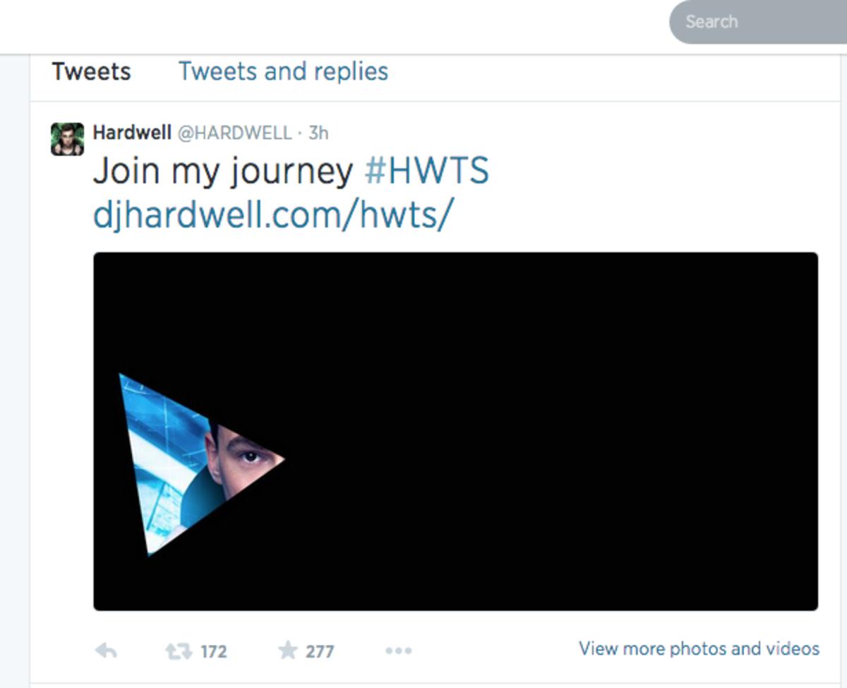 Hardwell's Secret Plan