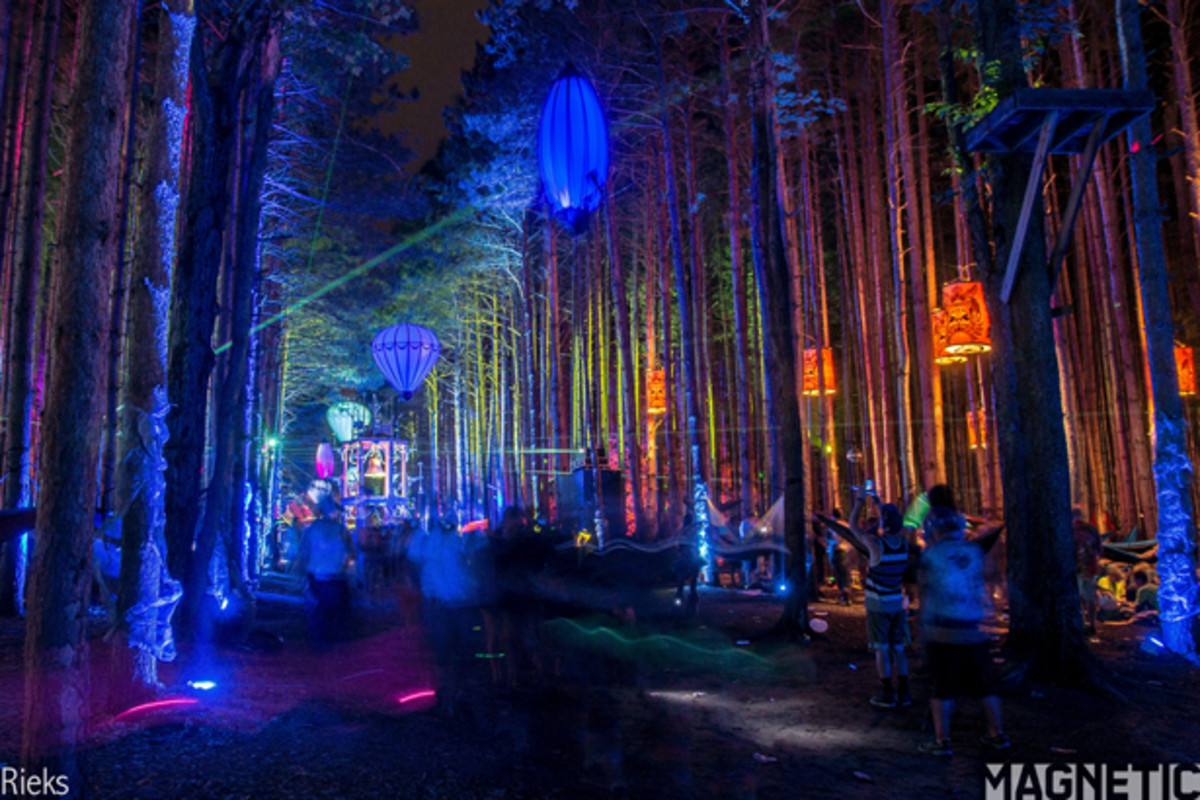 Sherwood Forest Camping >> Electric Forest 2014 Goes Beyond Expectations - Magnetic ...