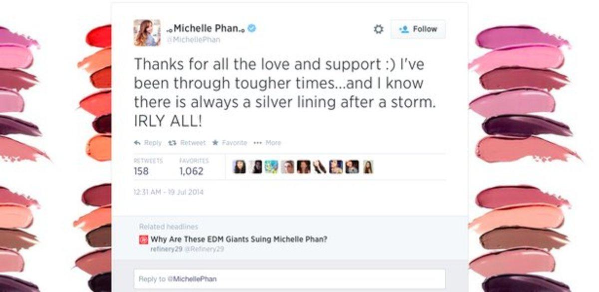 Michelle Phan Twitter