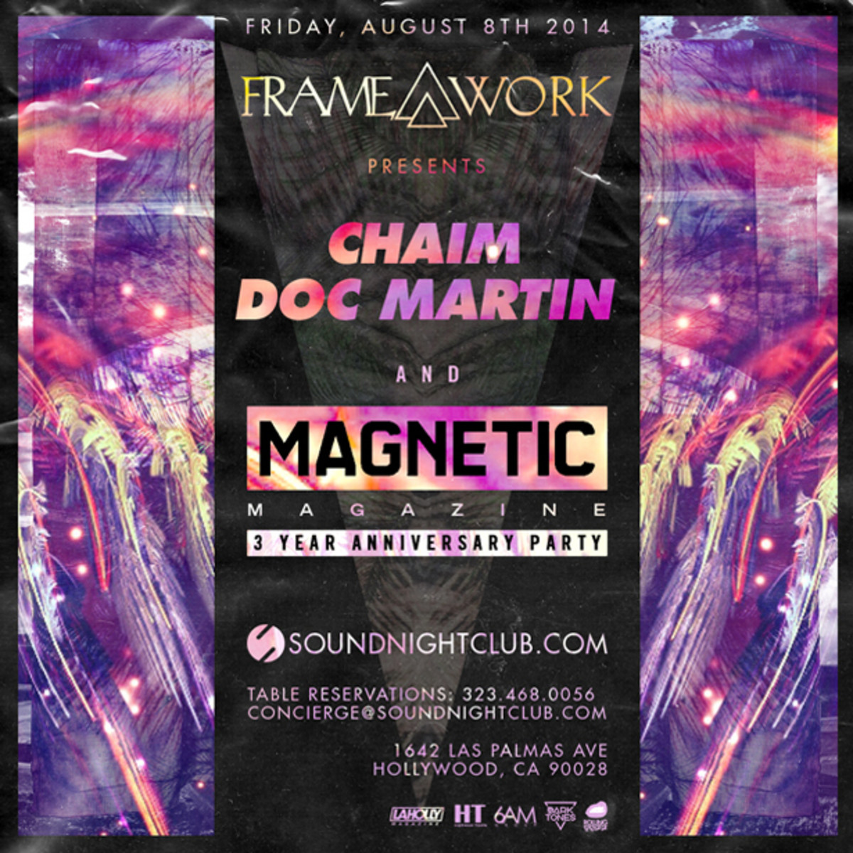 Celebrate 3 Years Of Magnetic Magazine At Sound Hollywood