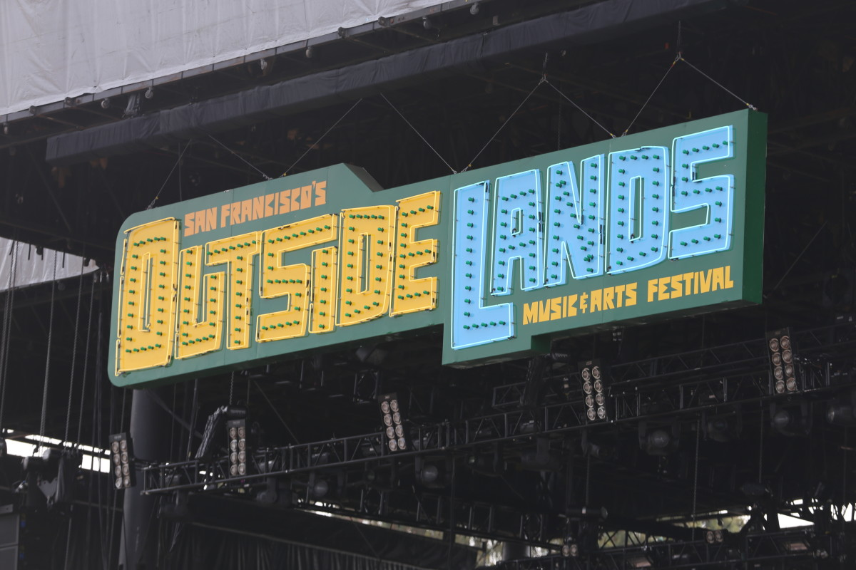 Outside Lands Sign