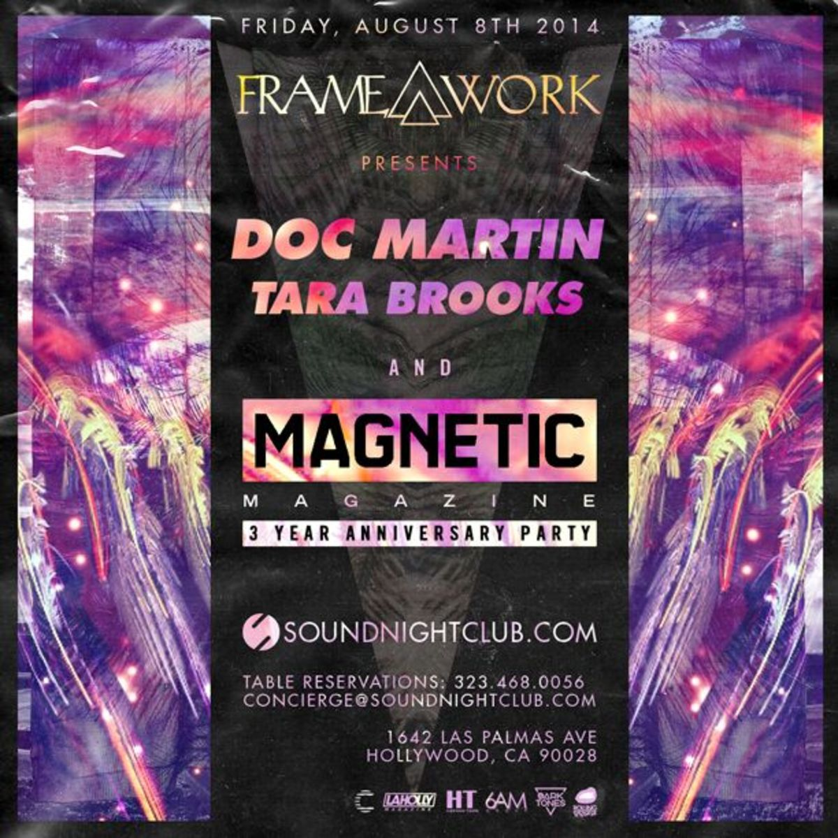 Celebrate Magnetic's 3 Year Anniversary Party Tonight At Sound Hollywood