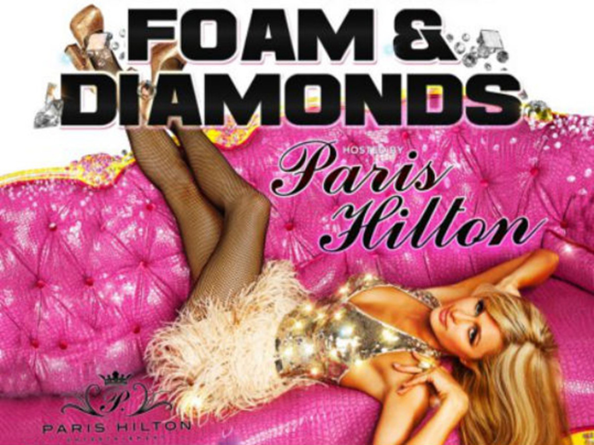 Dancing Astronaut Has The Whole Scoop On DJ Paris Hilton's Foam & Diamonds Party