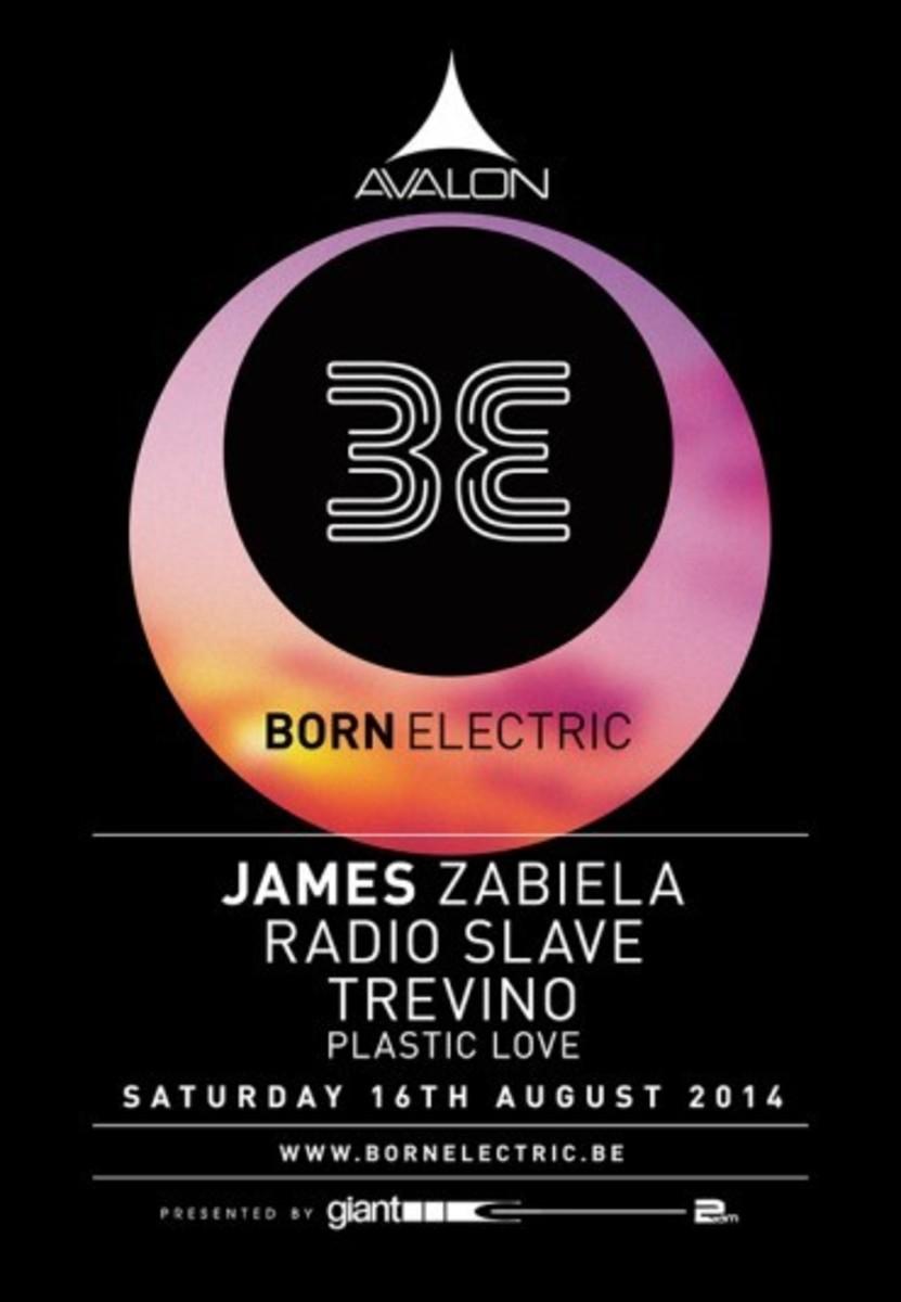 Born Electric Returns To Avalon Tonight With James Zabiela, Radio Slave, Trevino & Plastic Love