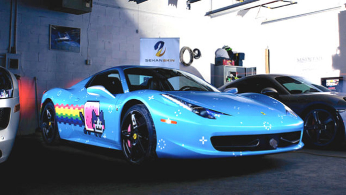 Ferrari Sends deadmau5 A Cease And Desist Over Purrari