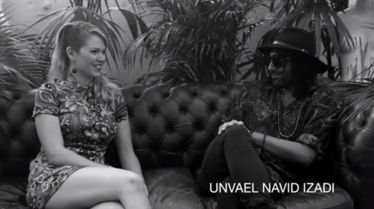 [Interview] Navid Izadi 'unvaeled' In Downtown Los Angeles