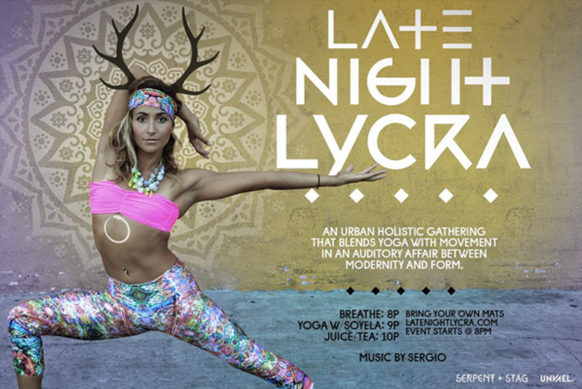 LA Tonight: Yoga, Pilates, House Music & More At Late Night Lycra