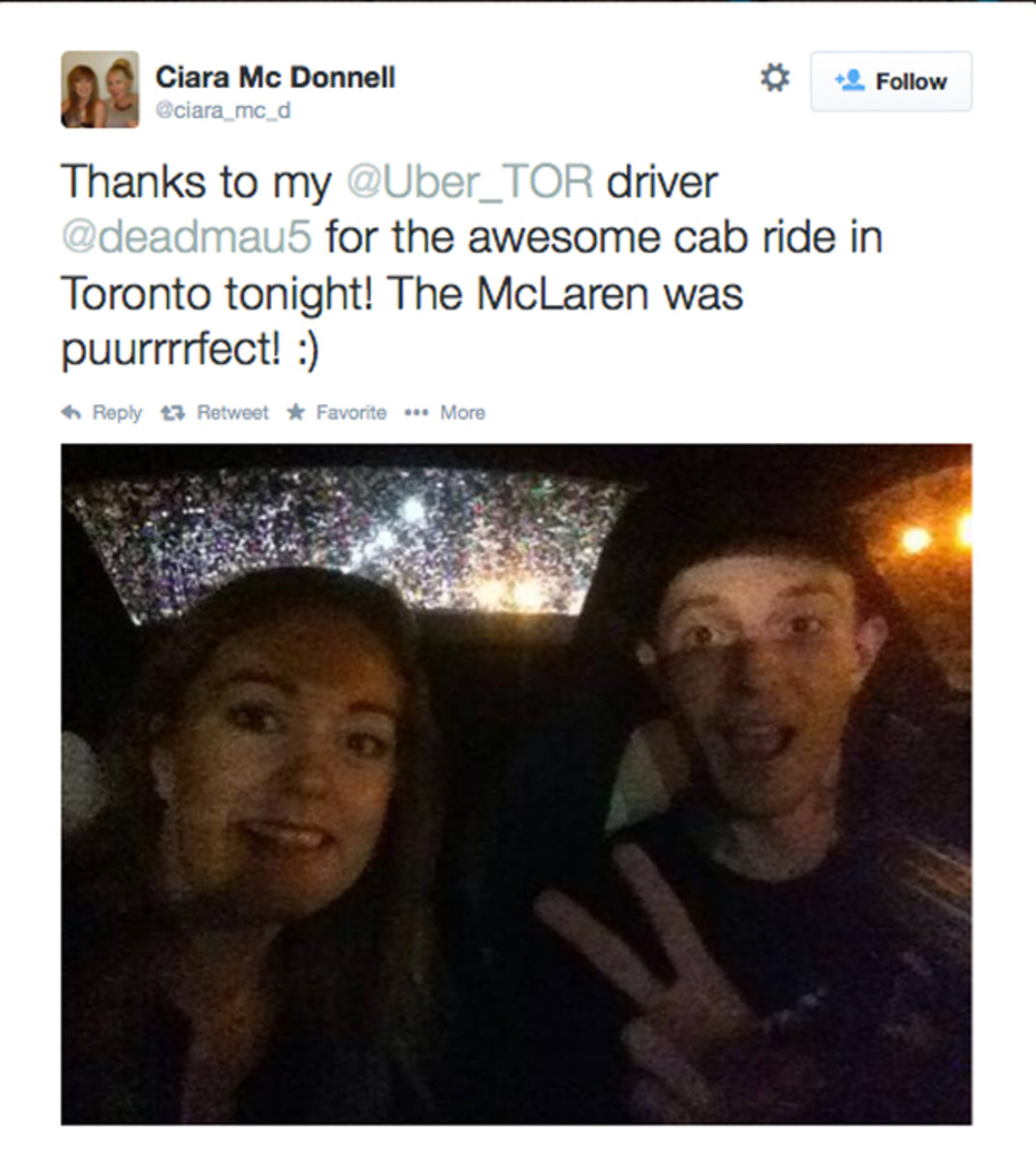 deadmau5 Breaks All The Rules And Becomes An Uber Driver In Toronto