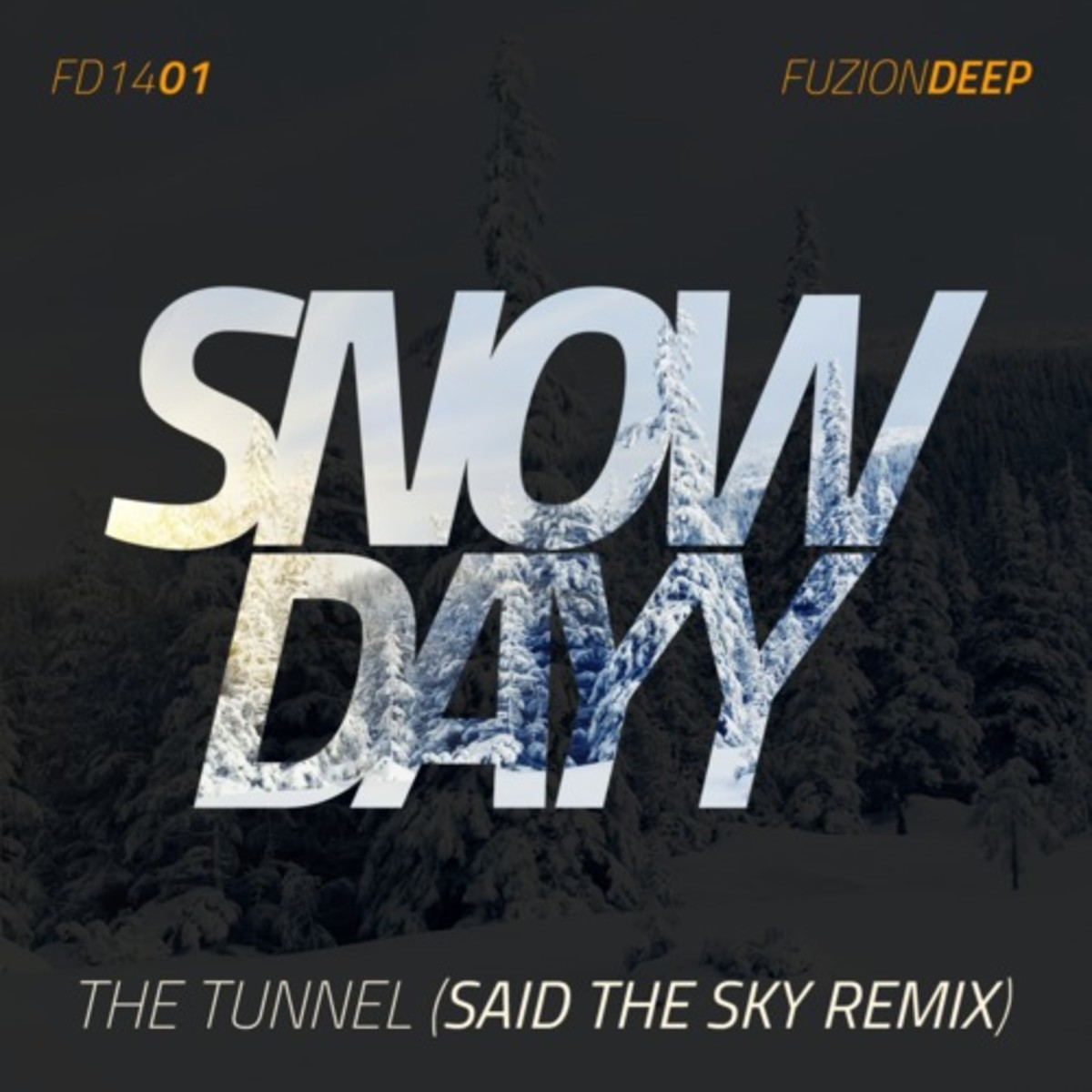Snow Dayy - The Tunnel (Said The Sky Remix)