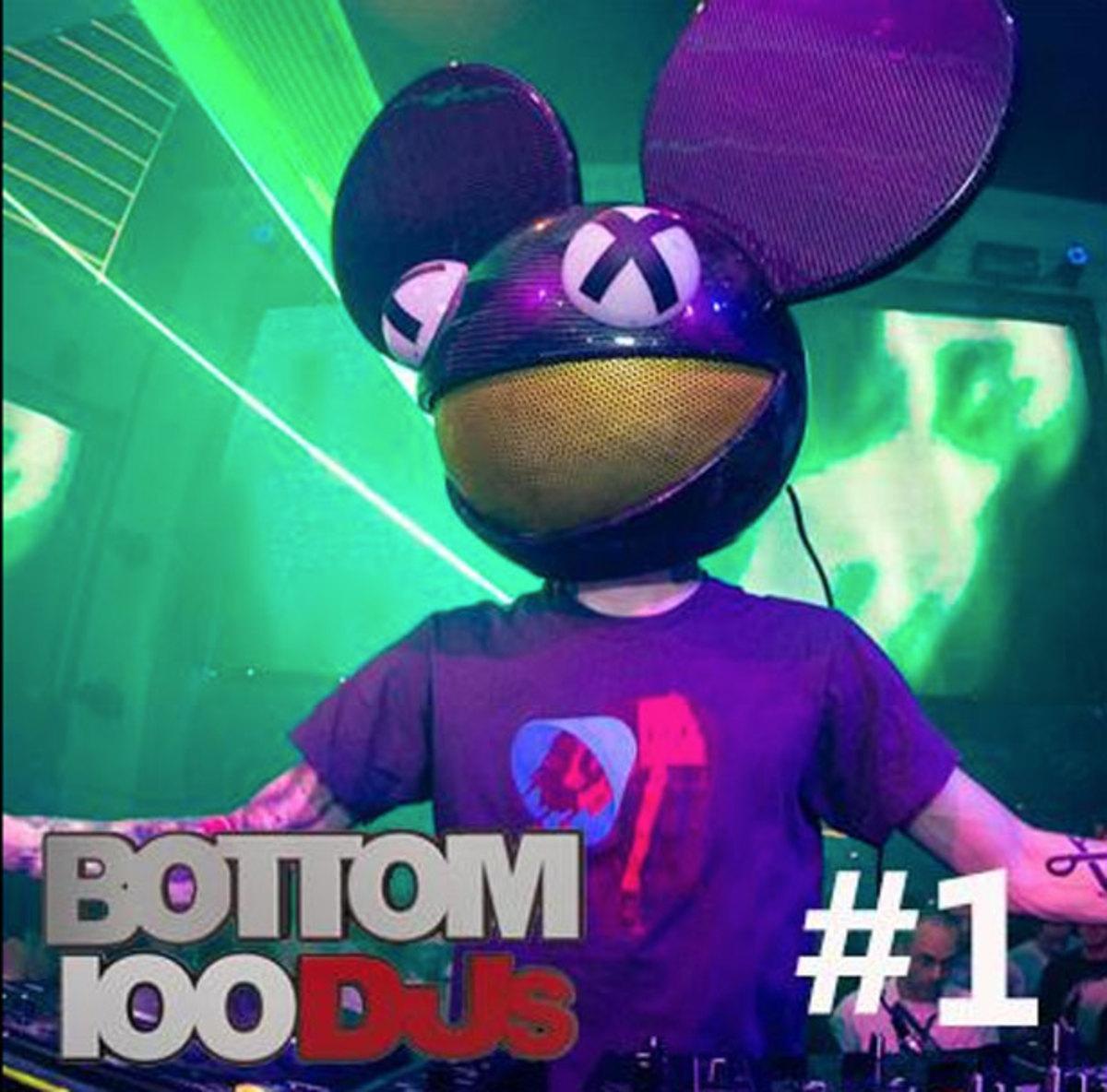 deadmau5 Wins Bottom 100 DJs Competition!