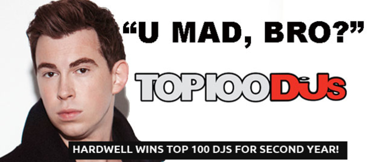 Disagree With The DJ Mag Top 100 Results? Re-Rank Them Here!