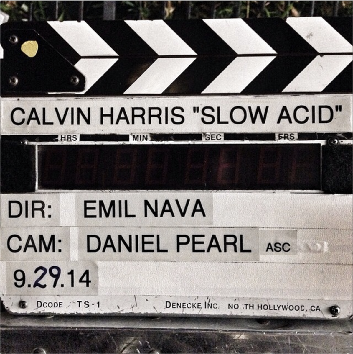 Calvin Harris Drops Another New Single - Slow Acid