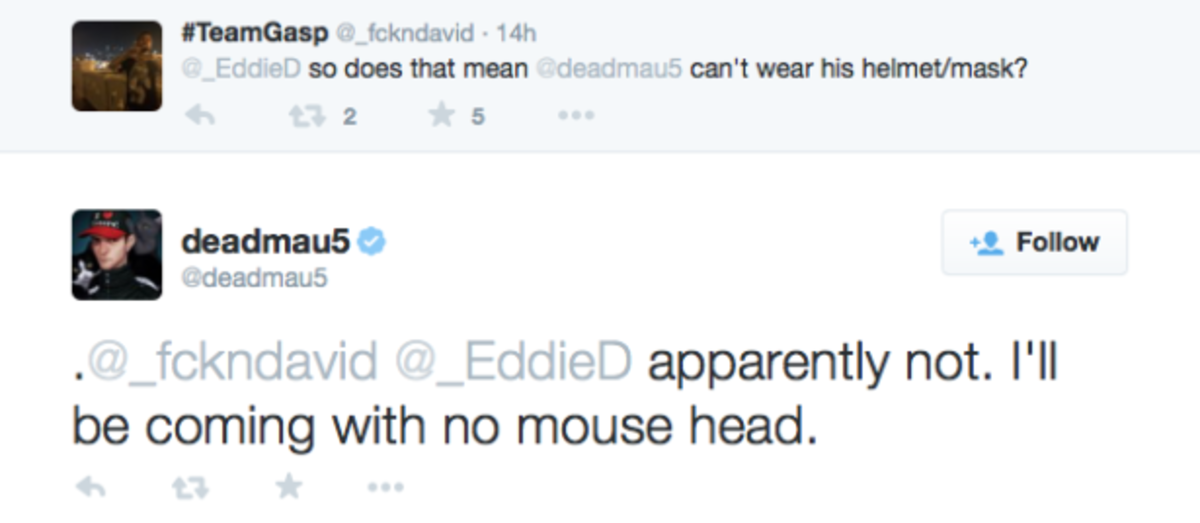 No Mau5head for Deadmau5 at HARD DOTD?