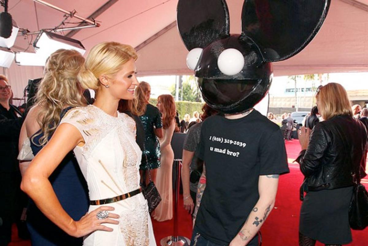 deadmau5 X Paris Hilton On The Same Billing? Sure, If Joel Gets 2 Million
