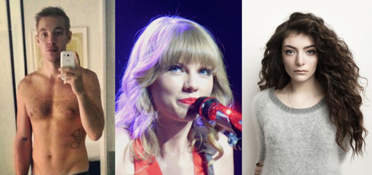 Diplo Thin Shames Taylor Swift, Lorde Penis Shames Diplo