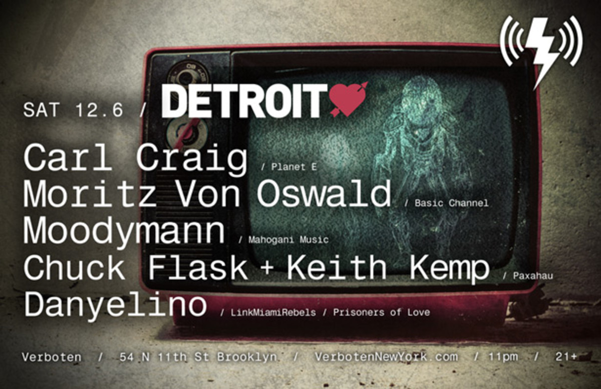 Carl Craig And Friends Kick Off Detroit Love Tour Concept In NYC - Magnetic Magazine