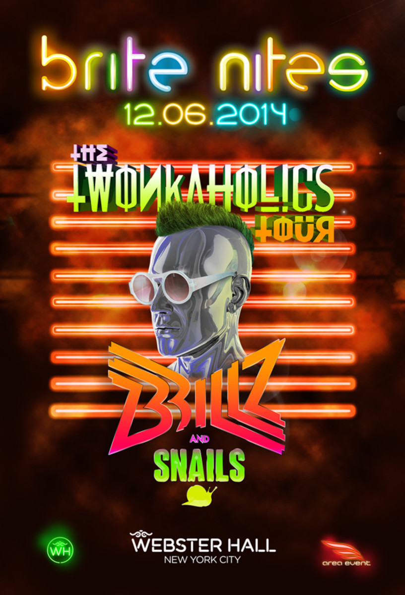 Spotlight: brite nights Presents The Twonkaholics Tour with Brillz & Snails