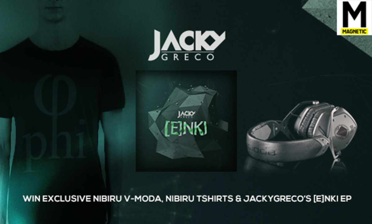 Spotlight Feature: Enki by Jackygreco And Contest To Win Track, V-Moda Headphones And T-Shirt