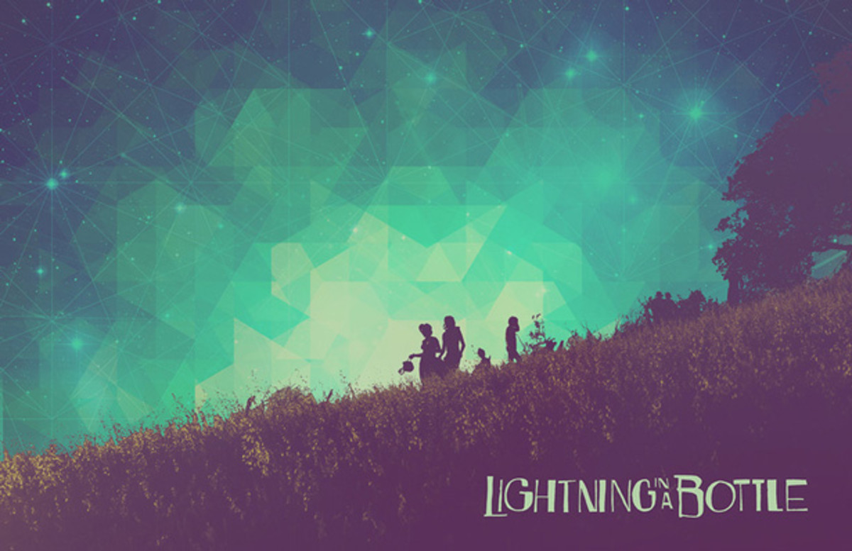 The Do LaB Teams Up With IS050 For Lightning in a Bottle 2015 Official Artwork.