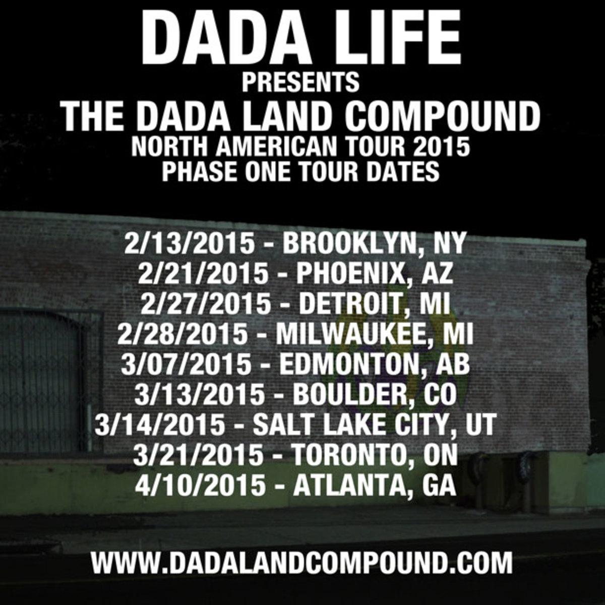 Dada Life Announces 2015 Dada Land Compound Parties