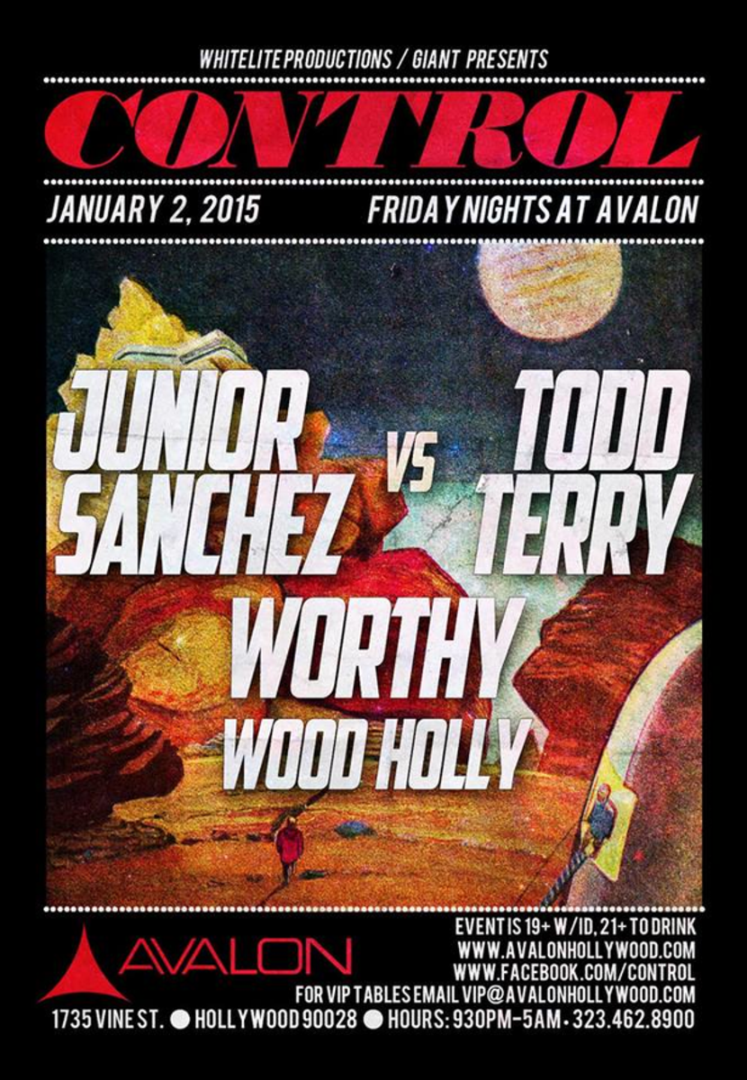Junior Sanchez vs Todd Terry at Avalon Hollywood Friday