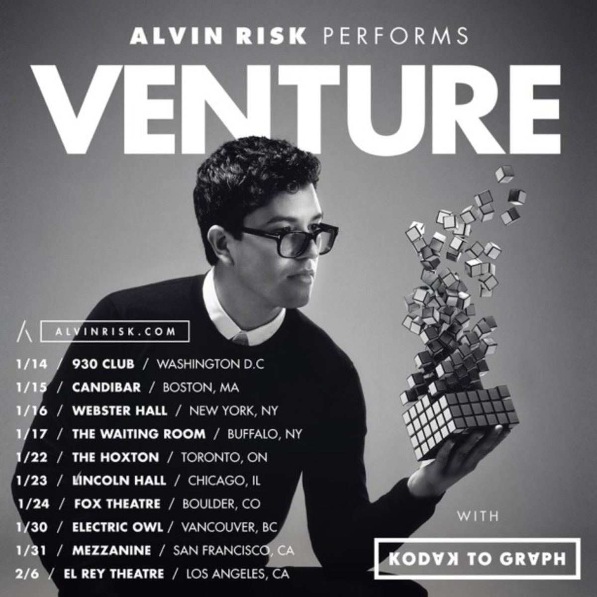 Alvin Risk Tour Dropping Immersive Video Experience