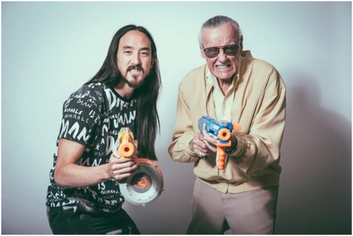 Steve Aoki Talks Apocalypse With Stan Lee