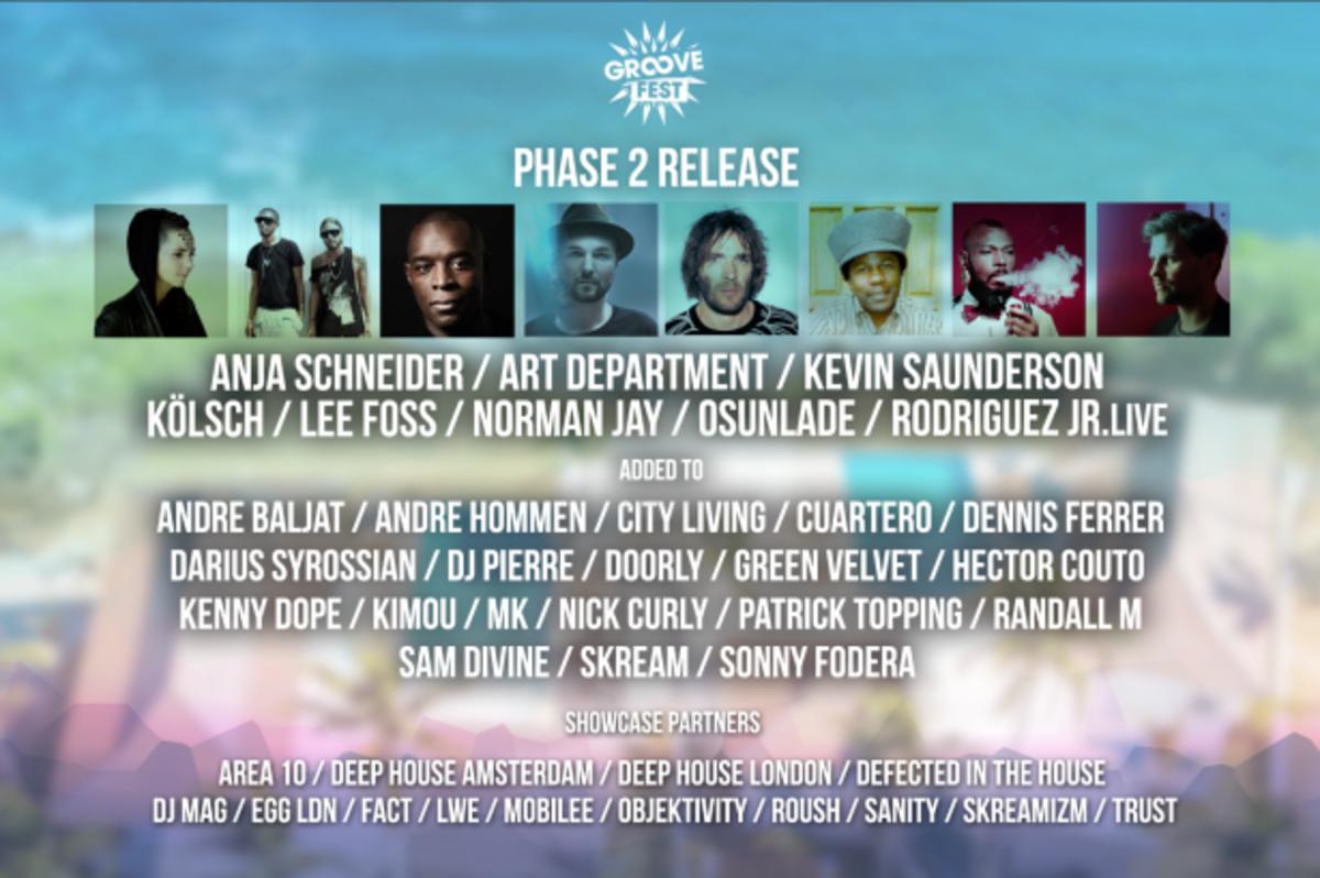 Groovefest Lineup Adds Art Department & More